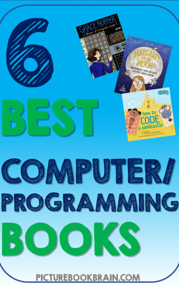 Check out some of the best children's books about computers, programming and programmers as recommended by teachers and librarians! There are so many amazing computer books for kids that teach them about famous computer programmers, coding basics and coding in history for Kindergarten, first, second, third, fourth or fifth grade. Great for the Hour of Code. Your K, 1st, 2nd, 3rd, 4th or 5th grade students will love these picture books about computers and programming.