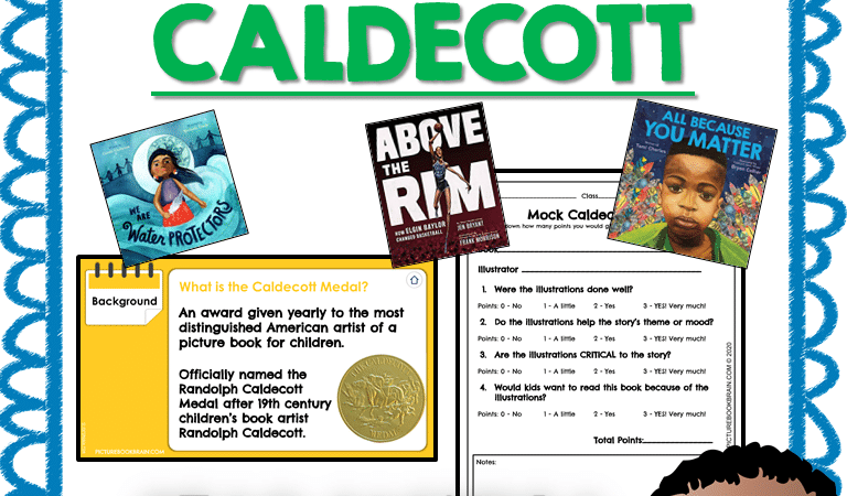 Mock Caldecott 2021 Unit Lessons and Google Activities
