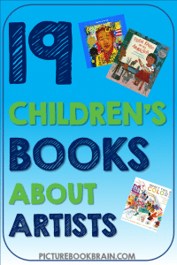 Check out these fiction and non-fiction children's books about artists. These books and lesson plans are full of activities and ideas to teach these mentor texts. Books just for fun and others to inform for Kinderarten, first, second, third, fourth or fifth grade. These books for kids Kindergarten through upper elementary are perfect childrens books about artists! Children's books about famous artists, art, painting, diverse artists, and more!