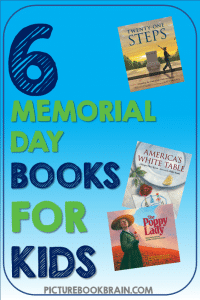 Check out these fiction and non-fiction picture books for Memorial Day or Remembrance Day. These books and lesson plans are full of activities and ideas to teach these mentor texts. Books just for fun and others to inform for Kinderarten, first, second, third, fourth or fifth grade. These books for kids Kindergarten through upper elementary are perfect for your Remembrance Day! Books about poppies, World War I, Civil War, the Vietnam War, and books to help students understand Memorial Day and its importance.
