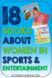 Looking for the best children's books about women in sports and entertainment? These fun books for elementary students are engaging for primary and upper elementary kids. Fiction and nonfiction books with lesson plans and activities linked. Books about astounding women in sports, music, art and literature for your kindergarten, first, second, third, fourth or fifth grade students. Your students will delight in these classic and brand new books!