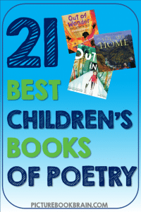 Check out these fiction and non-fiction poetry picture books for kids. These books and lesson plans are full of activities and ideas to teach these mentor texts. Books just for fun and others to inform for Kinderarten, first, second, third, fourth or fifth grade. These books for kids Kindergarten through upper elementary are perfect for April's National Poetry Month! Children's Books of poetry, about poets, historical figures, rhyming and lyrical books for kids!