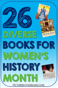 Looking for the best diverse children's books for Women's History Month? These fun picture books for elementary students are engaging for primary and upper elementary kids. Fiction and nonfiction books with lesson plans and activities linked. These are the best diverse picture books for Women's History Month for kids for your kindergarten, first, second, third, fourth or fifth grade students. Many of these are award winning children's books about diverse women: Latinx, Black / African American, artists, women in STEM, athletes, activists and more!