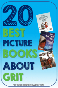 Looking for the best children's books about grit and resilience? These fun grit books for elementary students are engaging for primary and upper elementary kids. Fiction and nonfiction books with lesson plans and activities linked. Books on grit for kids about persistence for your kindergarten, first, second, third, fourth or fifth grade students. Your students will delight in these classic and brand new books!