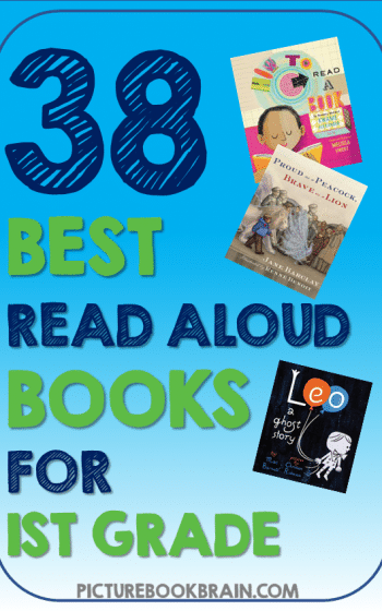 Looking for the best read aloud books for 1st grade? These fun picture book read alouds for 1st grade elementary students are engaging. Fiction and nonfiction books with lesson plans and activities linked. These are the best diverse picture book read alouds for 1st graders. Many of these are award winning children's books about diverse characters, friendships, relationships, and for the whole year!