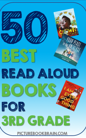 Looking for the best read aloud books for 3rd grade? These fun picture book read alouds for 3rd grade elementary students are engaging. Fiction and nonfiction books with lesson plans and activities linked. These are the best diverse picture book read alouds for 3rd graders. Many of these are award winning children's books about diverse characters, friendships, relationships, and for the whole year of third grade!