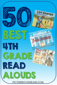 Looking for the best read aloud books for 4th grade? These fun picture book read alouds for 4th grade elementary students are engaging. Fiction and nonfiction books with lesson plans and activities linked. These are the best diverse picture book read alouds for 4th graders. Many of these are award winning children's books about diverse characters, friendships, relationships, and for the whole year of fourth grade!