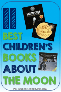 Check out these fiction and non-fiction children's books about the Moon. These books and lesson plans are full of activities and ideas to teach these mentor texts. Books just for fun and others to inform for Kinderarten, first, second, third, fourth or fifth grade. These books for kids Kindergarten through upper elementary are perfect childrens books about the Moon and moon landings! Children's books about the Moon, astronauts, biographies, fiction moon adventures, and science fiction.