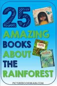 Check out these fiction and non-fiction rainforest books for kids. These books and lesson plans are full of activities and ideas to teach these mentor texts. Books just for fun and others to inform for Kinderarten, first, second, third, fourth or fifth grade. These books for kids Kindergarten through upper elementary are perfect childrens books about the the tropical rainforests of the world! Children's rainforest books about the Amazon jungle, rainforest animals, environmental activism, and more!
