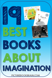 Looking for the best children's books about imagination? These picture books about imagination for elementary students are engaging for primary and upper elementary kids. Fiction and nonfiction books with lesson plans and activities linked. Picture books about creativity, innovation, invention, imaginative play and more for your kindergarten, first, second, third, fourth or fifth grade students. Your students will delight in these classic and brand new books!