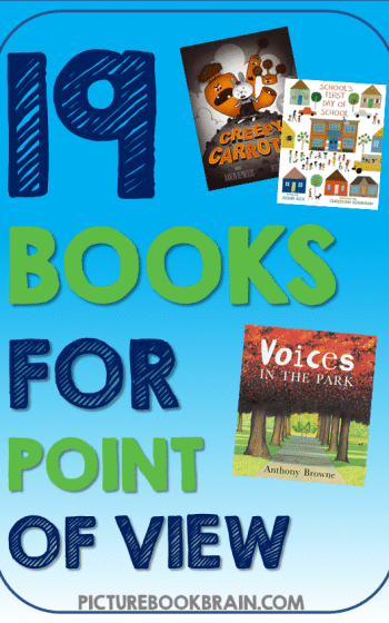 Looking for the best children's books for point of view? These fun books to teach point of view for elementary students are engaging for primary and upper elementary kids. Award-winning books with lesson plans and activities linked. Picture books about point of view, different perspectives, and more to read aloud for your kindergarten, first, second, third, fourth or fifth grade students. Your students will delight in these classic and brand new picture books for learning POV!