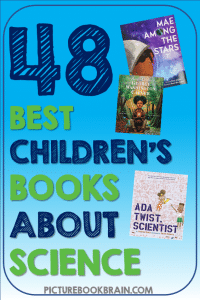 Looking for the best children's books on science? These fun books about sciencefor elementary students are engaging for primary and upper elementary kids. Fiction and nonfiction books with lesson plans and activities linked. Picture books about scientists, space, animals, inventors and more to read aloud for your kindergarten, first, second, third, fourth or fifth grade students. Your students will delight in these classic and brand new STEM picture books!