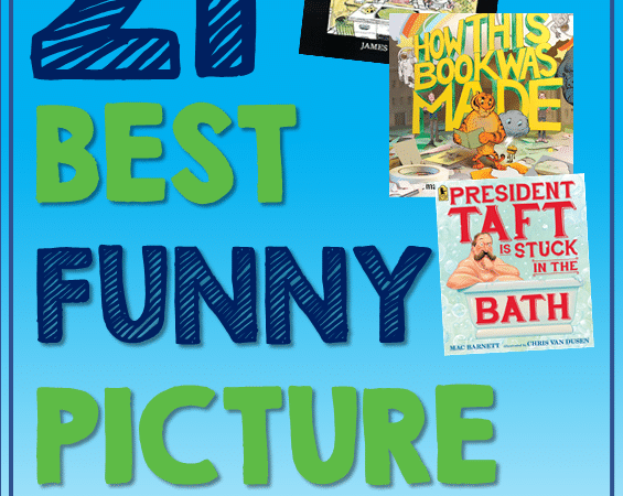 21 Best New Funny Picture Books Your Students Will Love