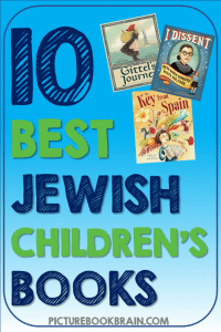 Looking for the best Jewish children's books? These Jewish picture books for elementary students are engaging for primary and upper elementary kids. Books with lesson plans and activities linked. Picture books with Jewish characters both fiction and nonfiction from various moments throughout history like World War 2, immigrants and more for your kindergarten, first, second, third, fourth or fifth grade students. Your students will delight in these classic and brand new books many of which have won Sydney Taylor Book Awards!