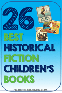 Looking for the best historical fiction picture books? These historical fiction children's books for elementary students are engaging for primary and upper elementary kids. Books with lesson plans and activities linked. Picture books about various moments throughout history like World War 2, presidents, immigrants and more for your kindergarten, first, second, third, fourth or fifth grade students. Your students will delight in these classic and brand new books!