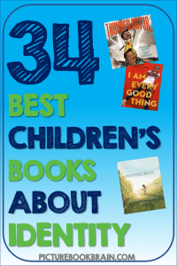 Looking for the best children's books about identity? These picture books on identity for elementary students are engaging for primary and upper elementary kids. Books with lesson plans and activities linked. Picture books about various topics such as culture, personality, family history, each person's own uniqueness and more for your kindergarten, first, second, third, fourth or fifth grade students. Your students will delight in these classic and brand new books!
